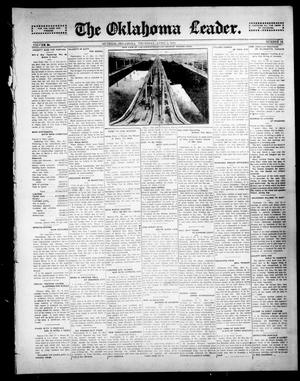 Primary view of object titled 'The Oklahoma Leader. (Guthrie, Okla.), Vol. 24, No. 13, Ed. 1 Thursday, April 2, 1914'.