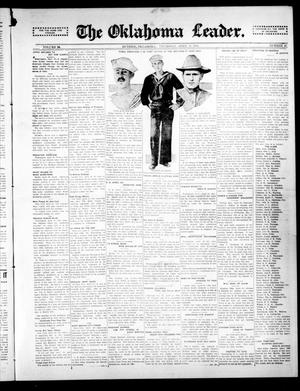 Primary view of object titled 'The Oklahoma Leader. (Guthrie, Okla.), Vol. 24, No. 16, Ed. 1 Thursday, April 30, 1914'.