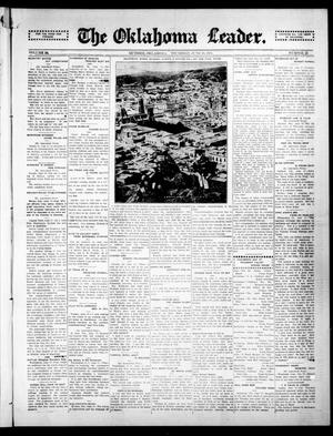 Primary view of object titled 'The Oklahoma Leader. (Guthrie, Okla.), Vol. 24, No. 22, Ed. 1 Thursday, June 18, 1914'.