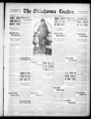 Primary view of object titled 'The Oklahoma Leader. (Guthrie, Okla.), Vol. 26, No. 1, Ed. 1 Thursday, December 30, 1915'.