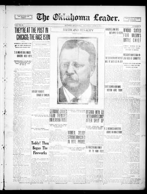 Primary view of object titled 'The Oklahoma Leader. (Guthrie, Okla.), Vol. 26, No. 23, Ed. 1 Thursday, June 8, 1916'.