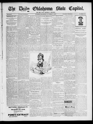 Primary view of The Daily Oklahoma State Capital. (Guthrie, Okla.), Vol. 9, No. 174, Ed. 1 Tuesday, November 9, 1897