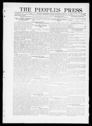 Primary view of object titled 'The Peoples Press (El Reno, Okla.), Vol. 1, No. 253, Ed. 1 Friday, December 1, 1911'.
