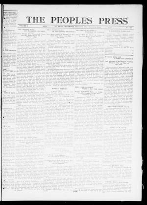 Primary view of object titled 'The Peoples Press (El Reno, Okla.), Vol. 1, No. 261, Ed. 1 Tuesday, December 12, 1911'.