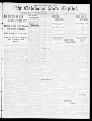 Primary view of The Oklahoma State Capital. (Guthrie, Okla.), Vol. 11, No. 127, Ed. 1 Friday, September 29, 1899