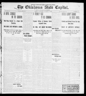 Primary view of object titled 'The Oklahoma State Capital. (Guthrie, Okla.), Vol. 11, No. 170, Ed. 1 Sunday, November 19, 1899'.