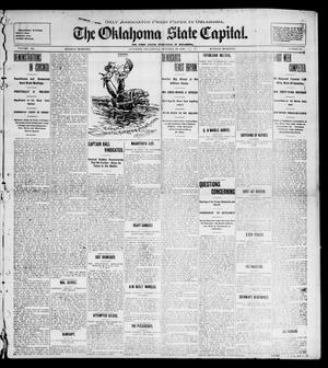 Primary view of object titled 'The Oklahoma State Capital. (Guthrie, Okla.), Vol. 12, No. 163, Ed. 1 Sunday, October 28, 1900'.