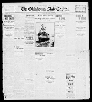 Primary view of object titled 'The Oklahoma State Capital. (Guthrie, Okla.), Vol. 12, No. 282, Ed. 1 Saturday, March 16, 1901'.
