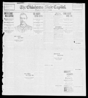 Primary view of object titled 'The Oklahoma State Capital. (Guthrie, Okla.), Vol. 12, No. 296, Ed. 1 Tuesday, April 2, 1901'.