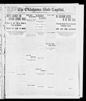 Primary view of object titled 'The Oklahoma State Capital. (Guthrie, Okla.), Vol. 13, No. 76, Ed. 1 Sunday, July 14, 1901'.
