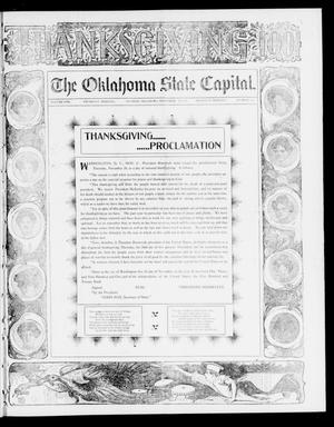 Primary view of object titled 'The Oklahoma State Capital. (Guthrie, Okla.), Vol. 13, No. 188, Ed. 2 Thursday, November 28, 1901'.