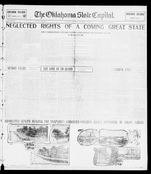 Primary view of object titled 'The Oklahoma State Capital. (Guthrie, Okla.), Vol. 13, No. 196, Ed. 2 Sunday, December 8, 1901'.