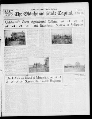 Primary view of object titled 'The Oklahoma State Capital. (Guthrie, Okla.), Vol. 13, No. 331, Ed. 2 Sunday, May 18, 1902'.