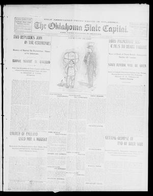 Primary view of object titled 'The Oklahoma State Capital. (Guthrie, Okla.), Vol. 13, No. 337, Ed. 1 Sunday, May 25, 1902'.