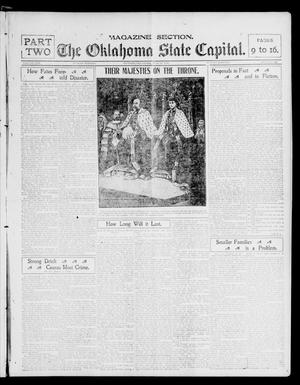 Primary view of object titled 'The Oklahoma State Capital. (Guthrie, Okla.), Vol. 13, No. 365, Ed. 2 Sunday, June 29, 1902'.