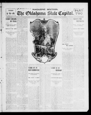 Primary view of object titled 'The Oklahoma State Capital. (Guthrie, Okla.), Vol. 14, No. 65, Ed. 2 Sunday, July 6, 1902'.