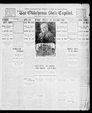 Primary view of object titled 'The Oklahoma State Capital. (Guthrie, Okla.), Vol. 14, No. 86, Ed. 1 Wednesday, July 30, 1902'.