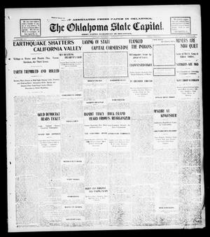 Primary view of object titled 'The Oklahoma State Capital. (Guthrie, Okla.), Vol. 14, No. 88, Ed. 1 Friday, August 1, 1902'.