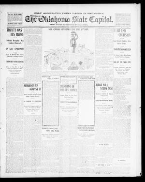 Primary view of The Oklahoma State Capital. (Guthrie, Okla.), Vol. 14, No. 128, Ed. 1 Sunday, September 21, 1902