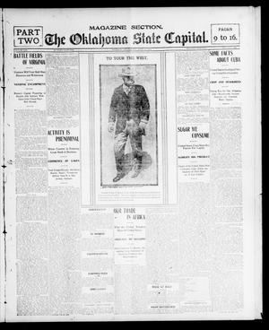 Primary view of object titled 'The Oklahoma State Capital. (Guthrie, Okla.), Vol. 14, No. 128, Ed. 2 Sunday, September 21, 1902'.