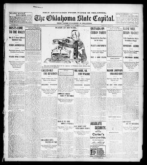 Primary view of object titled 'The Oklahoma State Capital. (Guthrie, Okla.), Vol. 14, No. 162, Ed. 1 Saturday, November 1, 1902'.
