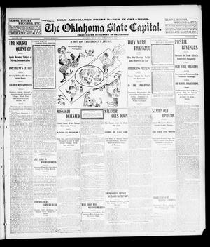 Primary view of object titled 'The Oklahoma State Capital. (Guthrie, Okla.), Vol. 14, No. 185, Ed. 1 Friday, November 28, 1902'.