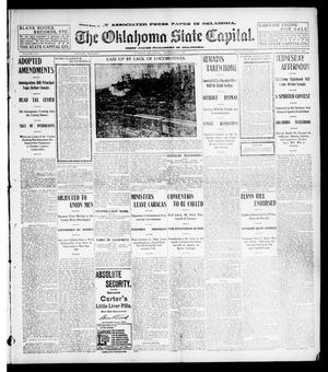 Primary view of object titled 'The Oklahoma State Capital. (Guthrie, Okla.), Vol. 14, No. 193, Ed. 1 Tuesday, December 9, 1902'.