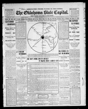 Primary view of object titled 'The Oklahoma State Capital. (Guthrie, Okla.), Vol. 14, No. 213, Ed. 1 Thursday, January 1, 1903'.