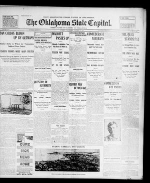 Primary view of The Oklahoma State Capital. (Guthrie, Okla.), Vol. 14, No. 234, Ed. 1 Tuesday, January 27, 1903