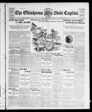 Primary view of object titled 'The Oklahoma State Capital. (Guthrie, Okla.), Vol. 15, No. 25, Ed. 1 Sunday, May 24, 1903'.