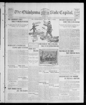 Primary view of object titled 'The Oklahoma State Capital. (Guthrie, Okla.), Vol. 15, No. 54, Ed. 1 Sunday, June 28, 1903'.