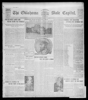 Primary view of object titled 'The Oklahoma State Capital. (Guthrie, Okla.), Vol. 15, No. 56, Ed. 1 Wednesday, July 1, 1903'.