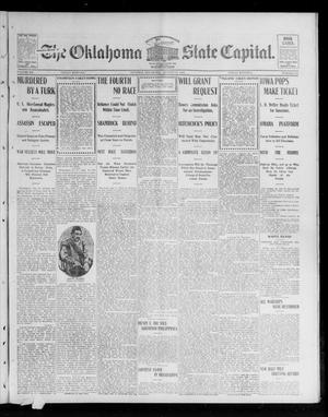 Primary view of object titled 'The Oklahoma State Capital. (Guthrie, Okla.), Vol. 15, No. 106, Ed. 1 Friday, August 28, 1903'.