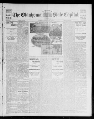Primary view of object titled 'The Oklahoma State Capital. (Guthrie, Okla.), Vol. 15, No. 108, Ed. 2 Sunday, August 30, 1903'.