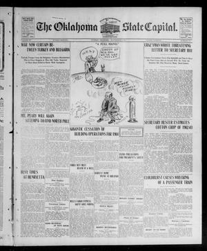 Primary view of object titled 'The Oklahoma State Capital. (Guthrie, Okla.), Vol. 15, No. 114, Ed. 1 Sunday, September 6, 1903'.