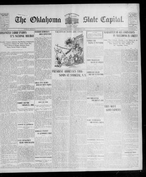 Primary view of object titled 'The Oklahoma State Capital. (Guthrie, Okla.), Vol. 15, No. 115, Ed. 1 Tuesday, September 8, 1903'.