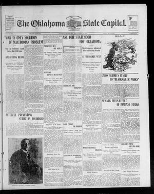 Primary view of object titled 'The Oklahoma State Capital. (Guthrie, Okla.), Vol. 15, No. 130, Ed. 1 Friday, September 25, 1903'.