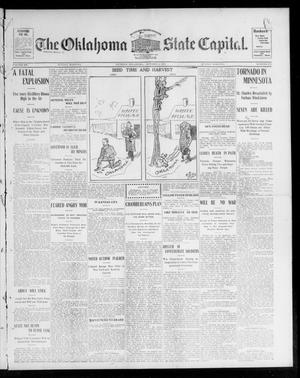 Primary view of object titled 'The Oklahoma State Capital. (Guthrie, Okla.), Vol. 15, No. 137, Ed. 1 Sunday, October 4, 1903'.