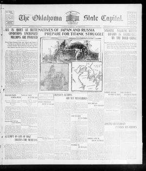 Primary view of object titled 'The Oklahoma State Capital. (Guthrie, Okla.), Vol. 15, No. 158, Ed. 1 Wednesday, October 28, 1903'.