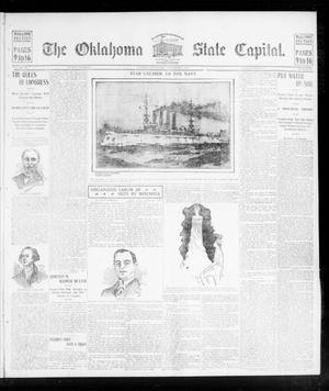 Primary view of object titled 'The Oklahoma State Capital. (Guthrie, Okla.), Vol. 15, No. 168, Ed. 2 Sunday, November 8, 1903'.