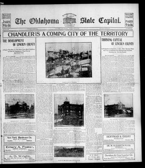 Primary view of object titled 'The Oklahoma State Capital. (Guthrie, Okla.), Vol. 15, No. 186, Ed. 2 Sunday, November 29, 1903'.
