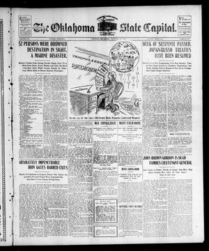 Primary view of object titled 'The Oklahoma State Capital. (Guthrie, Okla.), Vol. 15, No. 221, Ed. 1 Sunday, January 10, 1904'.
