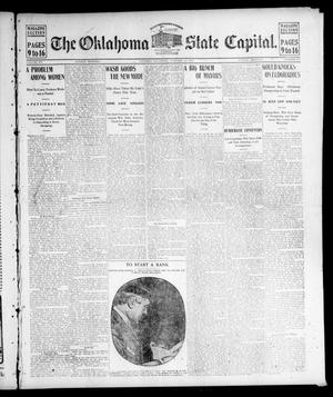 Primary view of object titled 'The Oklahoma State Capital. (Guthrie, Okla.), Vol. 15, No. 232, Ed. 1 Sunday, January 24, 1904'.