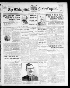 Primary view of The Oklahoma State Capital. (Guthrie, Okla.), Vol. 15, No. 241, Ed. 1 Thursday, February 4, 1904
