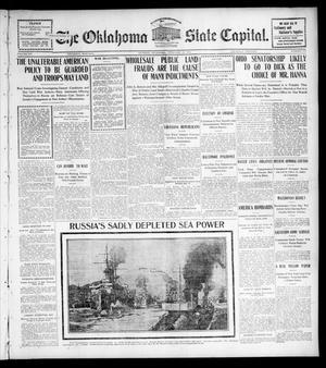 Primary view of The Oklahoma State Capital. (Guthrie, Okla.), Vol. 15, No. 253, Ed. 1 Thursday, February 18, 1904