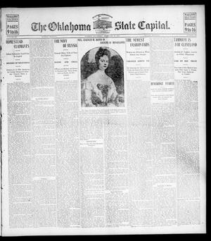 Primary view of object titled 'The Oklahoma State Capital. (Guthrie, Okla.), Vol. 15, No. 256, Ed. 2 Sunday, February 21, 1904'.