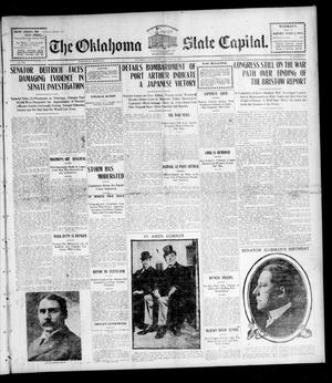 Primary view of object titled 'The Oklahoma State Capital. (Guthrie, Okla.), Vol. 15, No. 273, Ed. 1 Saturday, March 12, 1904'.