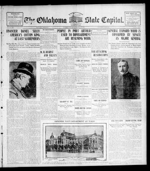 Primary view of object titled 'The Oklahoma State Capital. (Guthrie, Okla.), Vol. 15, No. 279, Ed. 1 Saturday, March 19, 1904'.