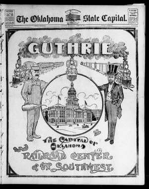 Primary view of object titled 'The Oklahoma State Capital. (Guthrie, Okla.), Vol. 16, No. 1, Ed. 2 Friday, April 22, 1904'.