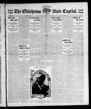 Primary view of object titled 'The Oklahoma State Capital. (Guthrie, Okla.), Vol. 16, No. 32, Ed. 2 Sunday, May 29, 1904'.